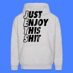 Just Enjoy This Shit Jets Hoodies - Men's Hoodie