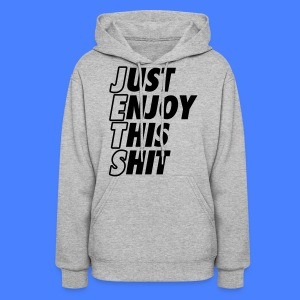 Just Enjoy This Shit Jets Hoodies - Women's Hoodie