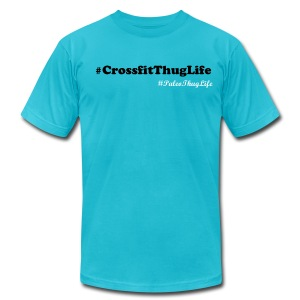 #CrossfitThugLife - Men's Fine Jersey T-Shirt