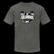 T-Shirts ~ Men's T-Shirt by American Apparel ~ T-Shirt With Black & White FHE Logo