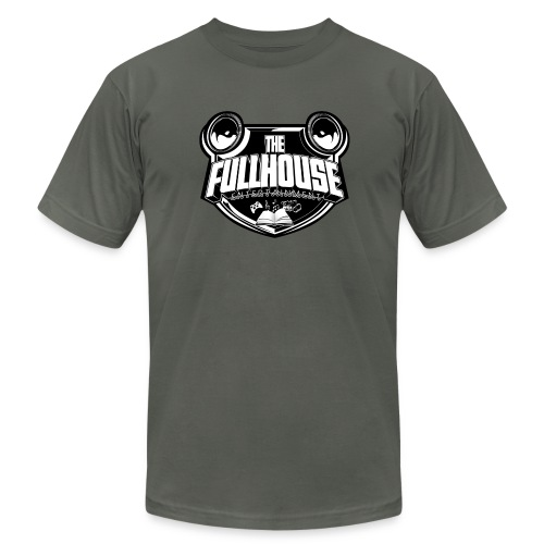 T-Shirt With Black & White FHE Logo - Men's  Jersey T-Shirt
