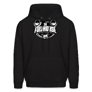 Hoodies ~ Men's Hoodie ~ Hoody With Black & White FHE Logo