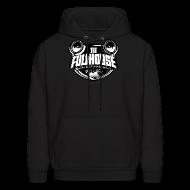 Hoodies ~ Men's Hoodie ~ Hoody With Black & White FHE Logo