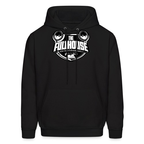 Hoody With Black & White FHE Logo - Men's Hoodie