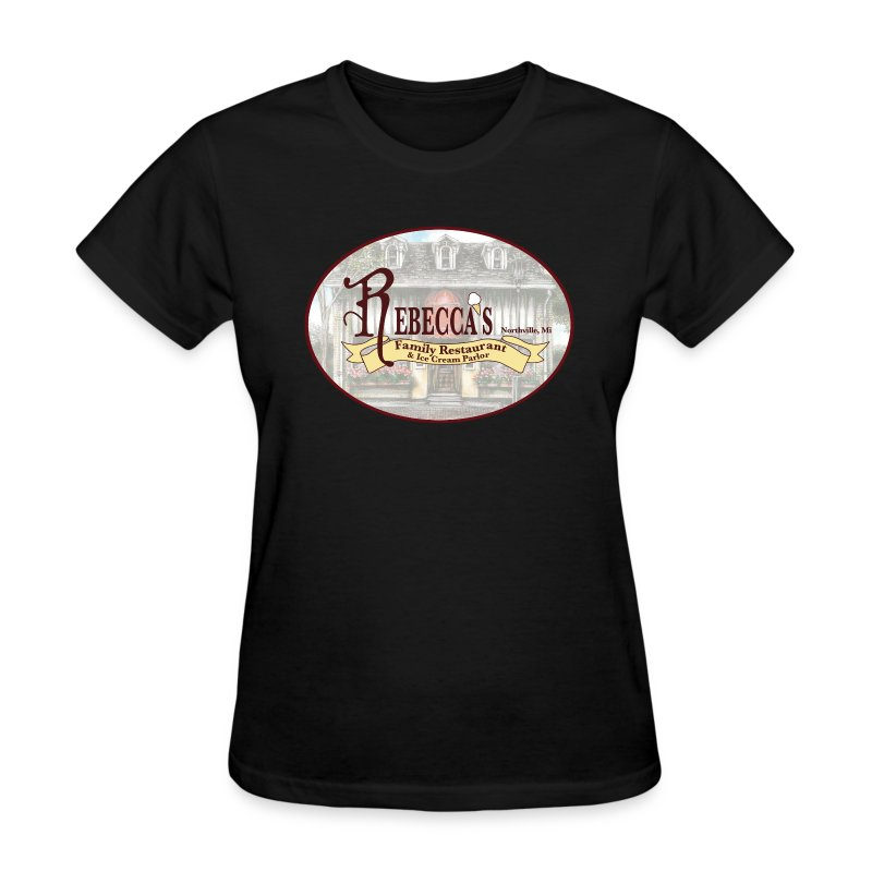 Rebecca's Female Basic Logo Round - Women's T-Shirt