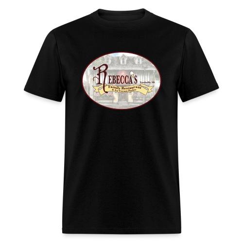 Rebecca's Male Basic Logo Round - Men's T-Shirt