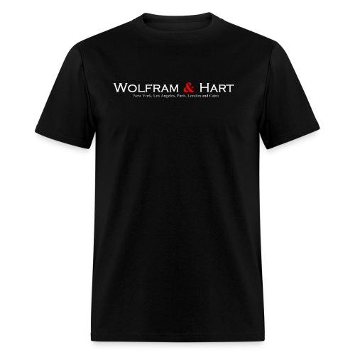 Wolfram & Hart Mens tee - Men's T-Shirt
