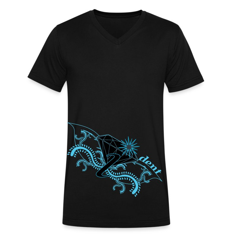 identpolo - Men's V-Neck T-Shirt by Canvas