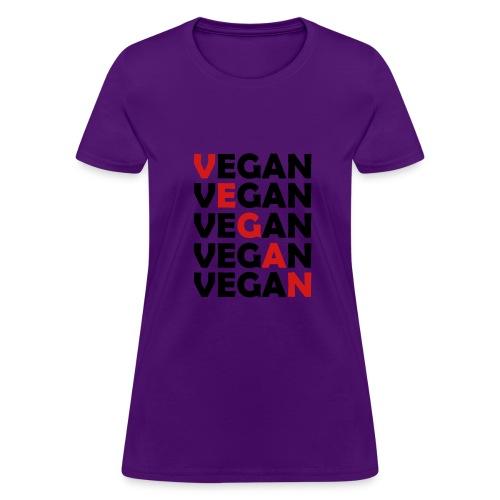 Vegan Womens Shirt - Women's T-Shirt