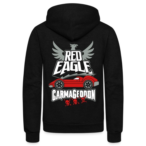 Red Eagle  - Unisex Fleece Zip Hoodie