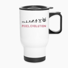 Pixel Evolution Bottles & Mugs