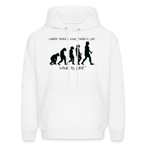 Evolution - Mens Hooded Sweatshirt - Men's Hoodie