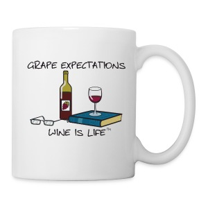 Grape Expectations - Coffee Mug - Coffee/Tea Mug