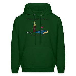 Grape Expectations - Mens Hooded Sweatshirt - Men's Hoodie