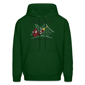 Grape Power - Mens Hooded Sweatshirt - Men's Hoodie