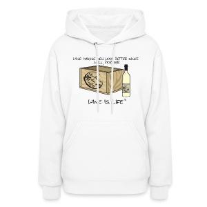 Making Men Look Better - Womens Hooded Sweatshirt - Women's Hoodie