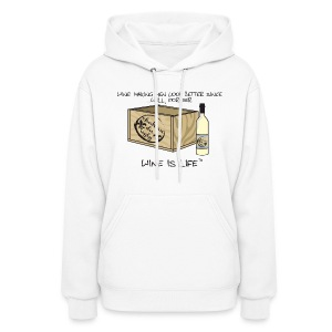 Making Men Look Better - Womens Hooded Sweatshirt - Women's Hoodie