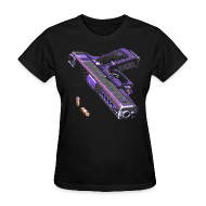 Women's T-Shirts ~ Women's T-Shirt ~ Gun - Women Shirt