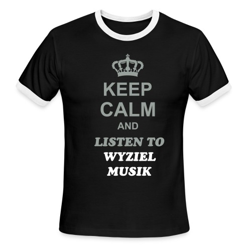 KEEP CALM WM - Men's Ringer T-Shirt