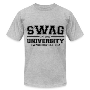 OK! Men's SWAG University Tee - Men's T-Shirt by American Apparel