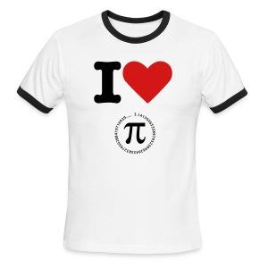 I Love Pie T-shirt - Men's Ringer T-Shirt