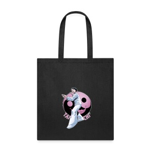 Tai Chi Design Inspired By Nancy Hellman - Tote Bag