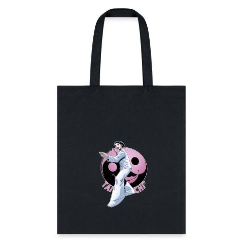 Tai Chi Design Inspired By Nancy Hellman - Tote Bag