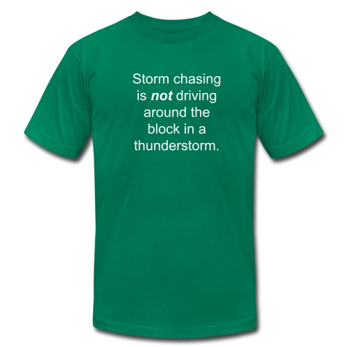 Storm chaser - Men's Fine Jersey T-Shirt
