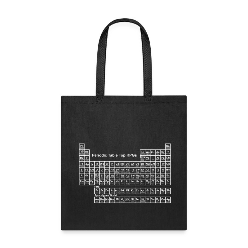periodic_tablewh - Tote Bag