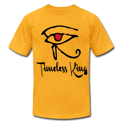 Timeless King Eye of Horus Slim Fit Tee - Men's Fine Jersey T-Shirt