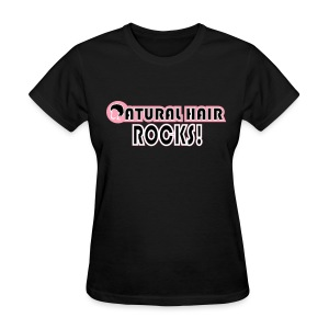 Natual Hair Rocks Standard T Shirt - Women's T-Shirt