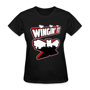 wingin it - Women's T-Shirt