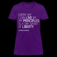 Women's T-Shirts ~ Women's T-Shirt ~ Every day liberty