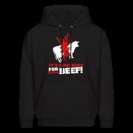 Hoodies ~ Men's Hoodie ~ Beef!