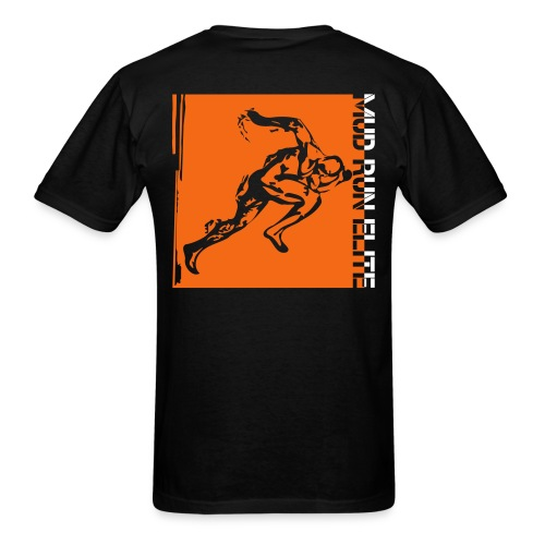 Men's T-Shirt - Warrior,Tough,Spartan,Runner,Run,Race,Mud,Elite