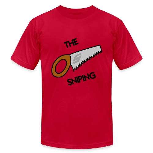 The Saw Sniping - Men's Fine Jersey T-Shirt