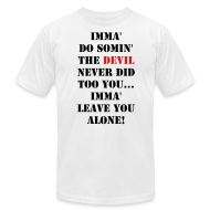 T-Shirts ~ Men's T-Shirt by American Apparel ~ Article 12839537