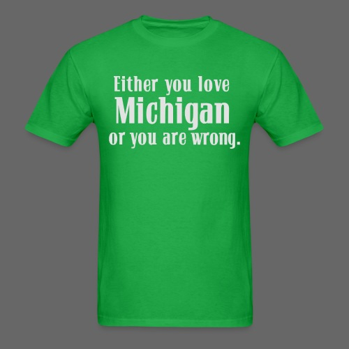 Michigan or Wrong - Men's T-Shirt