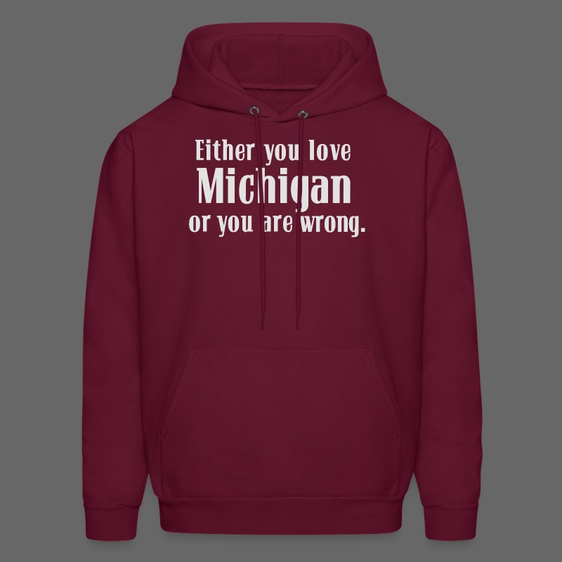 Michigan or Wrong - Men's Hoodie