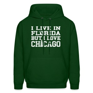 Live Florida Love Chicago - Men's Hoodie