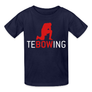 Kids' Shirts ~ Kids' T-Shirt ~ Children's Tebowing T-shirt