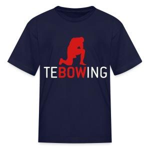 Children's Tebowing T-shirt - Kids' T-Shirt