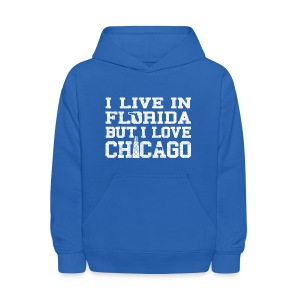 Live Florida Love Chicago - Kids' Hoodie