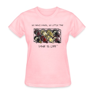 So Many Wines - Womens Standard Tee - Women's T-Shirt