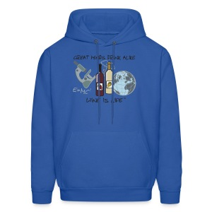Great Minds - Mens Hooded Sweatshirt - Men's Hoodie