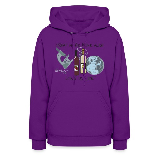 Great Minds - Womens Hooded Sweatshirt - Women's Hoodie