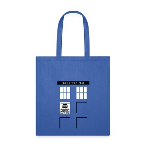 Bigger On the Inside Tote - Tote Bag