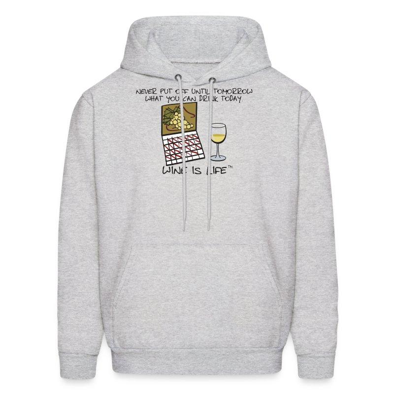 Drink Today - Mens Hooded Sweatshirt - Men's Hoodie