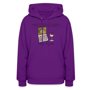 Drink Today - Womens Hooded Sweatshirt - Women's Hoodie