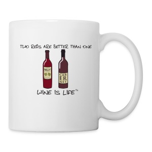 Two Reds - Coffee Mug - Coffee/Tea Mug